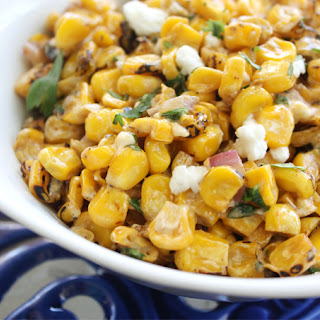 Roasted Corn & Feta Salad Recipe