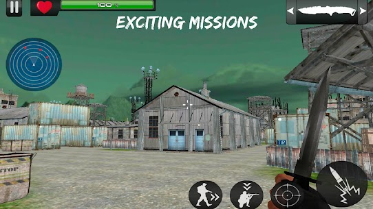 Rescue Mission Commando MOD | GOD MODE | DUMB ENEMY | NO ADS 1