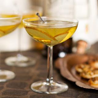 Bitter Sweet Sparkler Cocktail