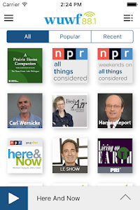 WUWF Public Radio App screenshot 3