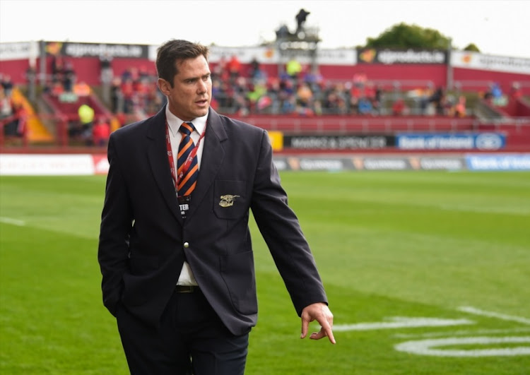 Rory Duncan (Head Coach) of Cheetahs prior to the Guinness Pro14 match between Munster and Toyota Cheetahs at Thomond Park on September 09, 2017 in Limerick.