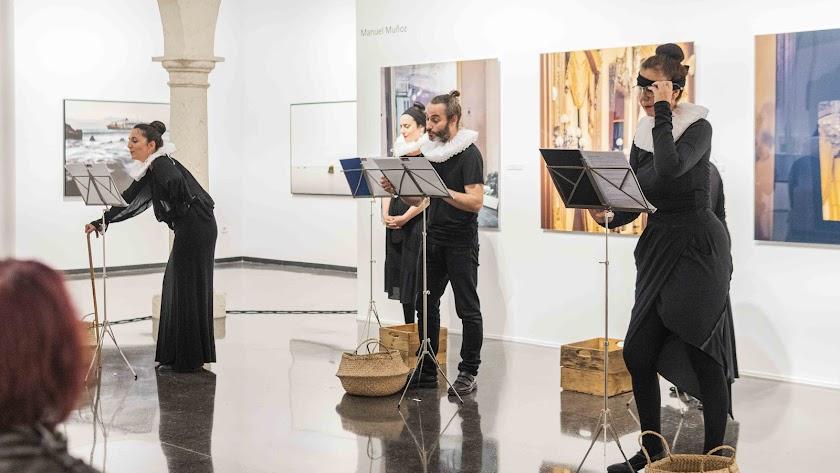 Lectura en el CAF en homenaje a las dramaturgas del Siglo de Oro invisibilizadas por la historia (Foto: Guille Bossini).