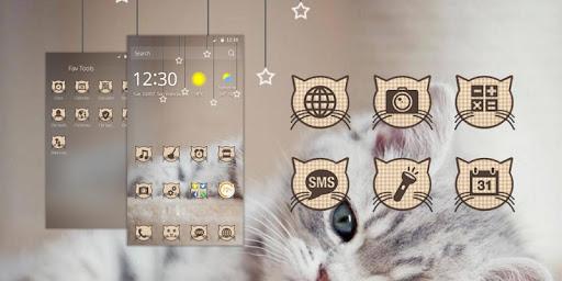 Cute Kitty Theme