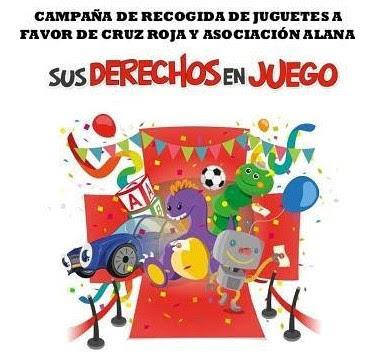 Campaña solidaria recogida de juguetes en Polo y Peyrolon