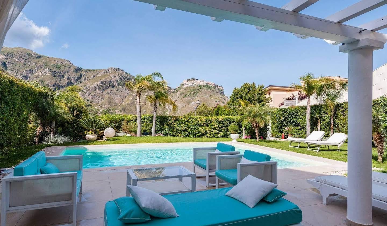 Villa avec jardin et terrasse Castelmola