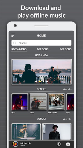 Download Music Mp3 & Free Music Downloader 1.0 screenshots 1