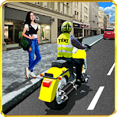 Crazy Bike Taxi Driver : City Taxi Games (Unreleased)