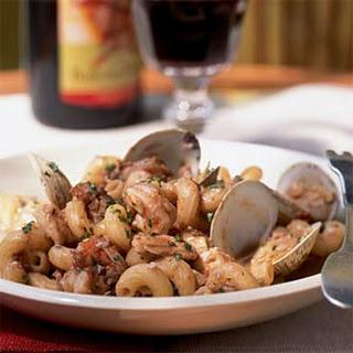 Seafood Ragù with Cavatappi