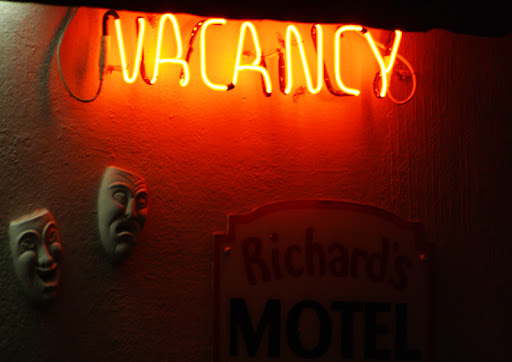 Vacancy at Richard's Motel in Hollywood, Florida.