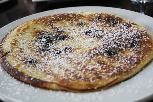 Chocolate Fashion blueberry pancake