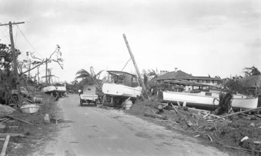 Hurricane 1926 Wreckage