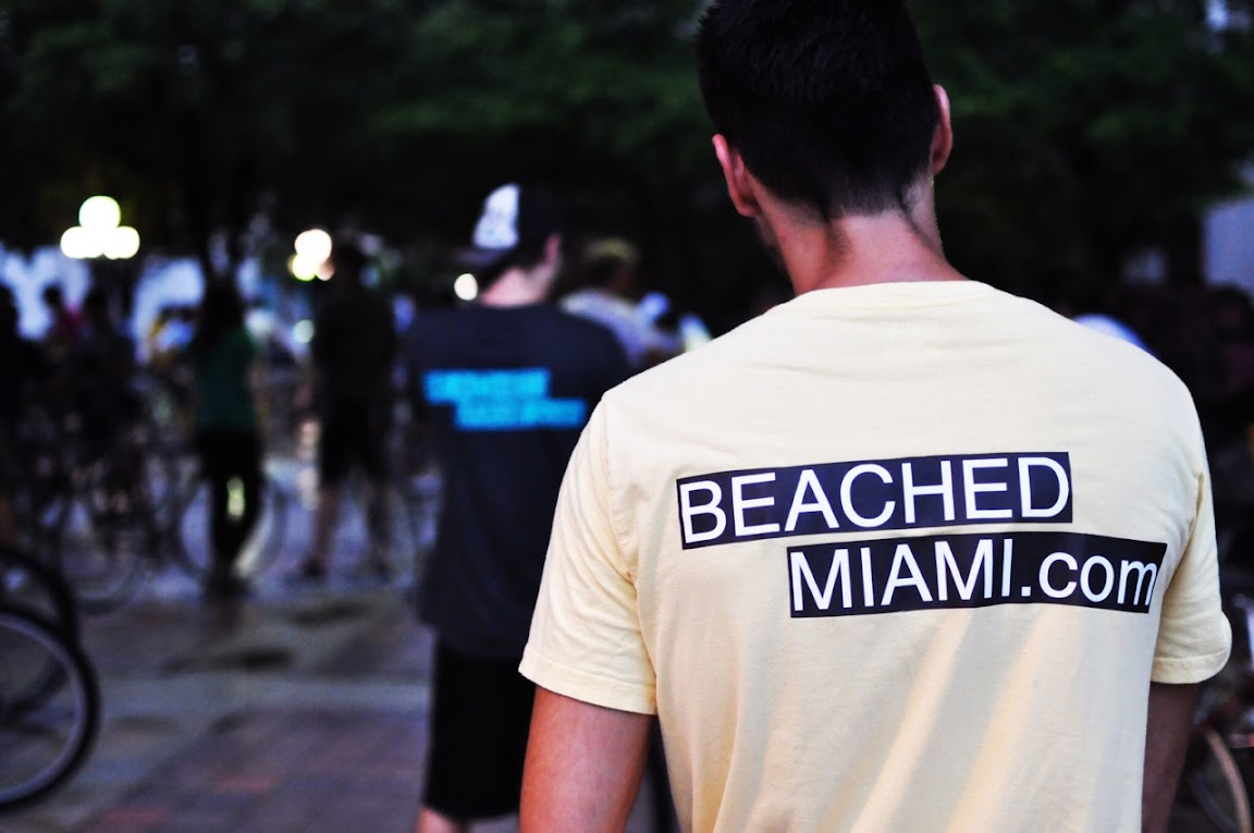 Miami Critical Mass Beached T-shirt