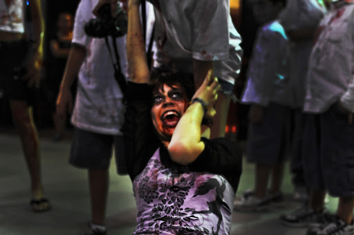 Lincoln Road Zombie Walk Screamer