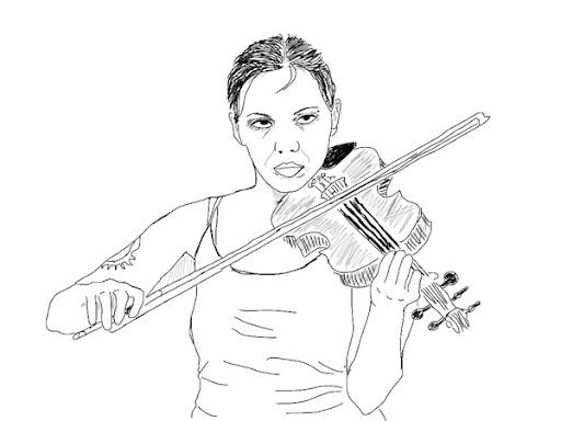 Sketchy #9: Violiness