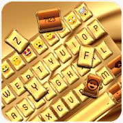 Gold Silk Luxury Keyboard Theme