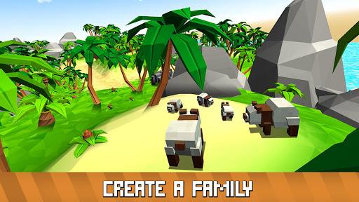 Blocky Panda Simulator - be a bamboo bear! 2.2.4 screenshots 12