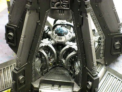 Space marine drop interior shot