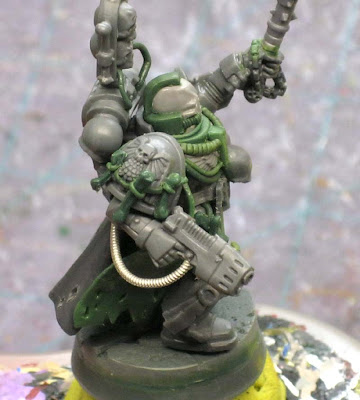 Space Marine Chaplain conversion