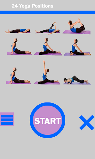 24 Yoga Position Daily Workout