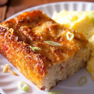 Potato and Bacon Breakfast Casserole.
