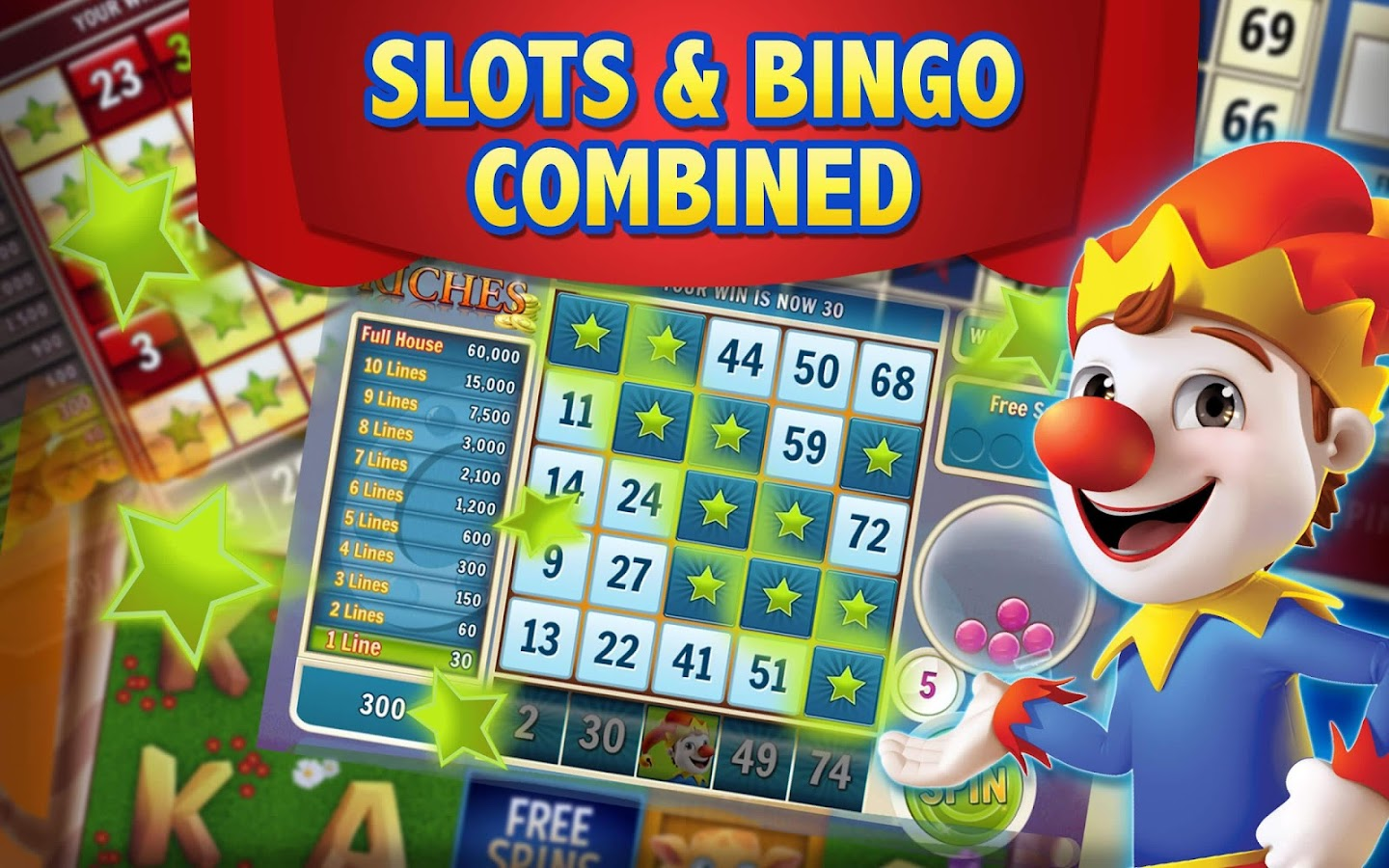 Play Slingo and other fun Casino games for free at