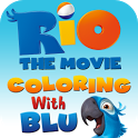 Rio: Coloring with Blu icon