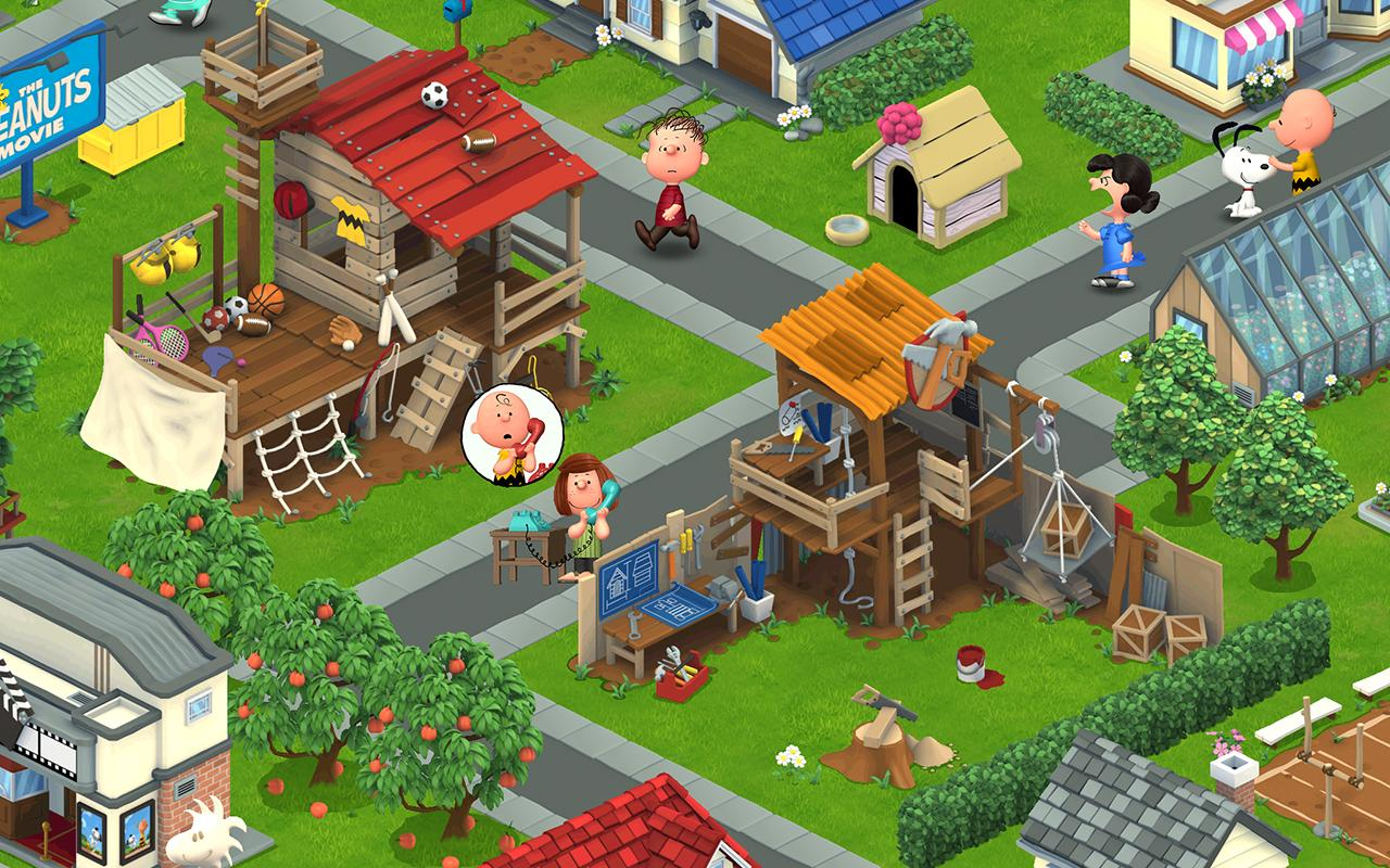 Peanuts Snoopy S Town Tale Android Apps On Google Play