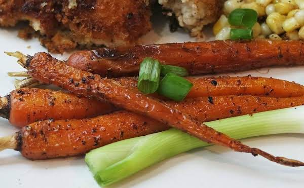 Pan Roasted Baby Carrots