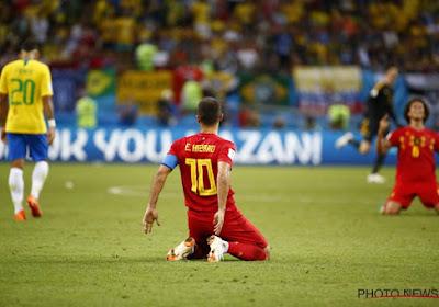 """Hazard : """"C'était la meilleure performance de ma carrière"""""""