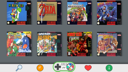 SNES Emulator - Arcade Classic Game Free 1.0a screenshots 1