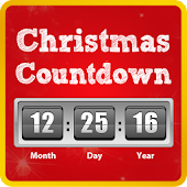 Christmas Countdown - Red
