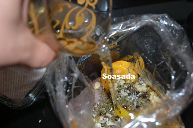 Pollo con melocotón DSC_0272