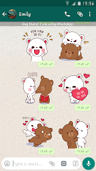 Lovely Bears Stickers For Whatsapp - WASticker APK 2