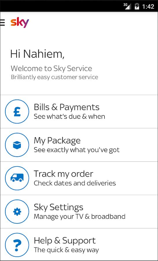 Sky Service- screenshot