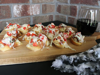 Chicken Bacon Ranch Bruschetta Recipe