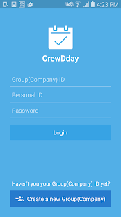 CrewDDay-Shared with employees - náhled