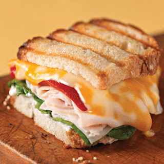 Panini with Turkey and Cheese