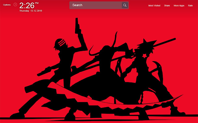 Soul Eater Wallpapers Theme New Tab