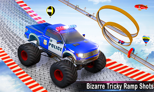 Police Ramp Car Stunts GT Racing Car Stunts Game 1.3.0 screenshots 4