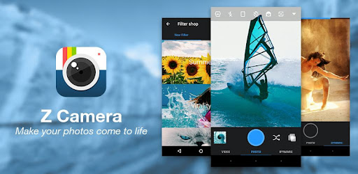 Z Camera - Photo Editor, Beauty Selfie, Collage - Apps on