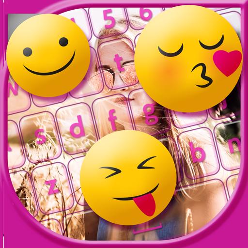 My Photo on Keyboard & Emoji