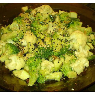 Broccoli/cauliflower Salad