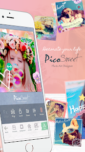 PicoSweet - Kawaii PhotoEditor- screenshot thumbnail