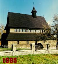 Photo: Kościół w Rogoźniku 1995 r.