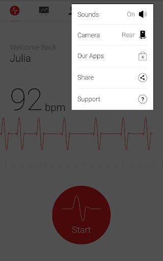 Cardiograph - Heart Rate Meter screenshot 14