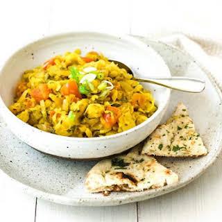 Indian Cabbage and Potato Curry {Vegan}.