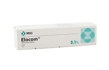 Elocom 0.1% Crema Tubo   x15G. MSD Mometasona Furoato