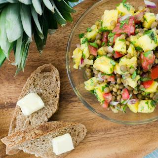 Tropical Lentil Summer Salad Recipe