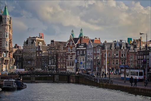 Пряничные домики Амстердама. Прогулка по городу