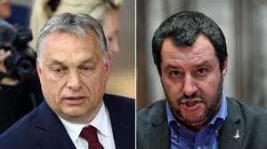 Orban + Salvini